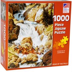 Great American Puzzle Factory Roar of the Falls 1000 Piece Puzzle Great American Puzzle Factory