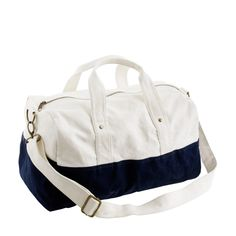 Kids' canvas overnight bag - gym - Boys' school-uniform shop - J.Crew