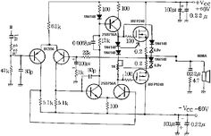 100 watt subwoofer for home circuit diagram ~ Audio Amplifier Circuits