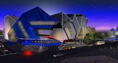 Perth Arena project: similar to Fed Square but geometrically distinct. Contemporary Architecture, Architecture Design, Cottesloe Beach, Building Images, Perth Western Australia, Kings Park, Photographs Of People, Out Of This World, Places Around The World