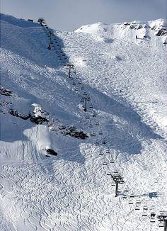 La Chavanette, manshoge buckels maken dit tot één van de gavaarlijkste afdalingen van de Alpen. Adrenalinekick in het kwadraat!!!