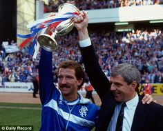 Graeme Souness and Walter Smith in 1987