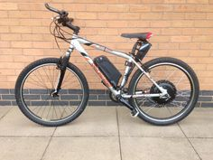 Specialized Rockhopper electric bike conversion