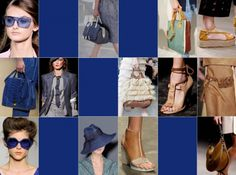 """Spring Summer 2013 Fashion Color Trends from Pantone-""""Blue"""""""