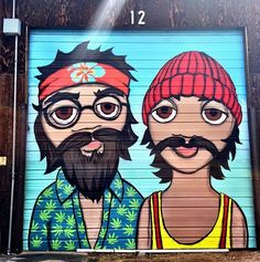 Cheech and Chong by Jeremy Burns in Denver, CO (LP)