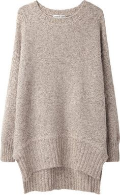 ShopStyle: Tsumori Chisato / Oversize Alpaca Sweater