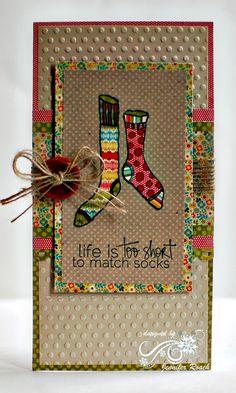 Life's too short to match socks -  art journal idea - draw mismatched socks