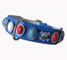 Halsband GlamourGlizz blau
