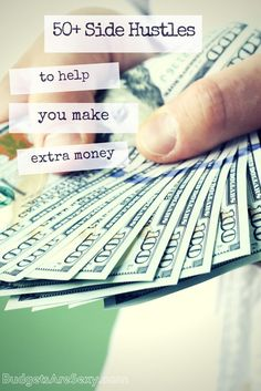 Check out all these ways to make money below! All 50+ side hustles ever featured on this blog, plus other fascinating jobs people have tried full-time as well (along with yours truly). http://www.budgetsaresexy.com/ways-to-make-money/ Money Making Ideas, Making Money, #MakingMoney