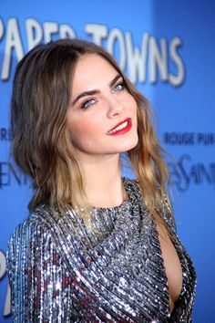 Cara Delevingne Paper Towns Premiere NY