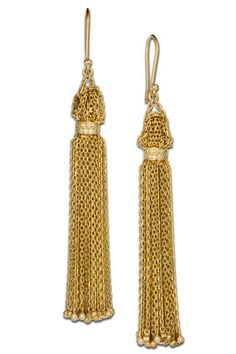 These are just so perfect! -Solange Azagury-Partridge earrings