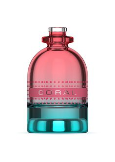 Decorated by Dekorglass Bottle from Estal Chocolate Box Packaging, Decoration, Perfume Bottles, Coral, Cosmetics, Beauty, Decor, Beauty Products, Decorating