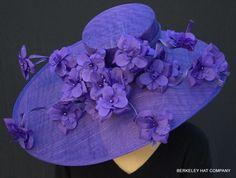 Purple Majesty Hat for the Kentucky Derby. Berkeleyhat.com