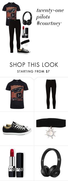 """""""courtneys style"""" by jennaclaire120 on Polyvore featuring Frame, Converse and Christian Dior"""