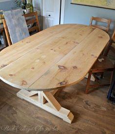 diy farmhouse dining table, diy, painted furniture