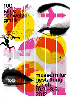 Norm poster from '100 Years of Swiss Graphic Design' manuel krebs dimitri bruni