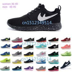094d97e633 Encontrar Más Zapatillas de Running Información acerca de 2015 del envío  del nuevo Roshe run hombres zapatos corrientes