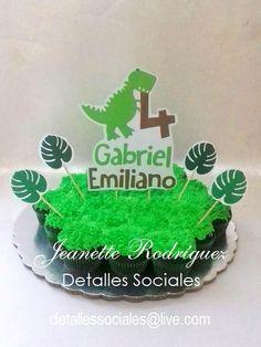 Cupcakes Dinosaurio