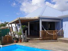 Villa Bleue des Isles Superbe Villa Bleue-Piscine-Vue mer-Jardin-Ste Anne (Réf:5131 Villa Guadeloupe SainteAnne)