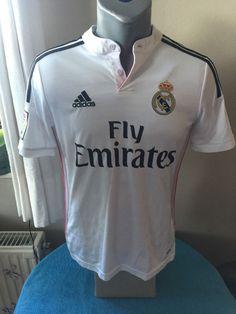 REAL MADRID CF Football Shirt Camiseta Trikot 2014 15 Home Soccer Jersey  Maillot  adidas ccc4aa5e5