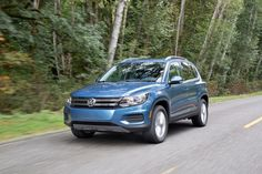 Combining a 200-horsepower turbocharged engine with precision engineering, the Tiguan ups the bar for driving enjoyment in the compact SUV segment. Its sol
