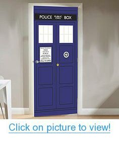 Doctor Who TARDIS Door Cling Home #Office #Calendars # #Posters #Decals