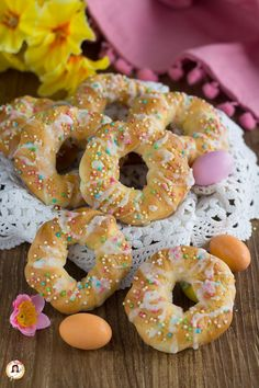 Amaretti Cookies, Biscotti Cookies, Italian Biscuits, Cannoli Recipe, Marble Cake, Easter Traditions, Muffins, Easter Cookies, Macaron