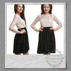 #Sweetheart #Lace #Top #Black #Dress
