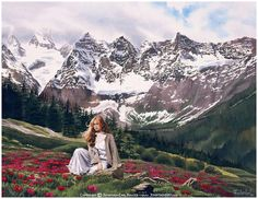 Another one of Jonathon's earlier works, I love the background, I love the woman and I love her hair.  Good picture.