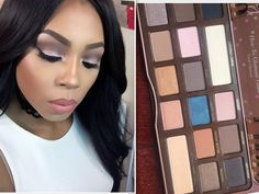 TOO FACED SEMI SWEET Chocolate Bar Palette Review and Tutorial Love Makeup, Diy Makeup, Makeup Tips, Beauty Makeup, Hair Beauty, Beauty Stuff, Makeup Products, Chocolate Makeup, Chocolate Bar Eyeshadow
