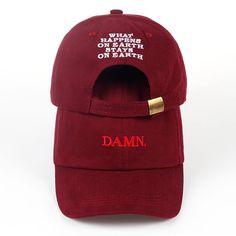 "Kendrick Lamar /""i/"" 6 panel kappe dad hut TDE Schwarz Hippy snapback NEU"