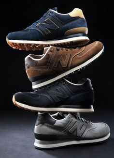 "New Balance ""Workwear"" Pack. Great fall kicks for casual suit pairing. Moda Sneakers, Sneakers Mode, Sneakers Fashion, Fashion Shoes, Mens Fashion, Nail Fashion, Me Too Shoes, Men's Shoes, Shoe Boots"