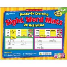 The Lesson Plan Diva: Sight Word Mats