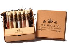 19 Examples of Spice Packaging - From Sentimental Spice Branding to Test Tube Barbecue Spices (TOPLIST)