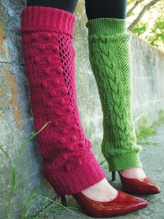 Free Knit or Crochet Legwarmers Pattern