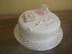 First Communion  By Soniris on CakeCentral.com
