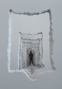#HTE A 300-Foot Tunnel Excavated Through Walls Examines the Creative and Destructive Powers of Mankind All image
