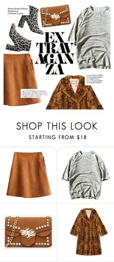 """""""extravaganza"""" by lux-life ❤ liked on Polyvore featuring Gucci, Bela, Haute Hippie and STELLA McCARTNEY"""