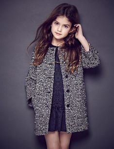 Trendy Ideas for moda infantil invierno girls Fashion Kids, Little Girl Fashion, Look Fashion, Autumn Fashion, Trendy Fashion, Little Fashionista, Baby Dress, Girl Outfits, Girls Dresses