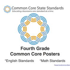 Fourth Grade Common Core Standards for English and Math
