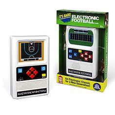 Mattel Classic Retro Sports Games | ThinkGeek