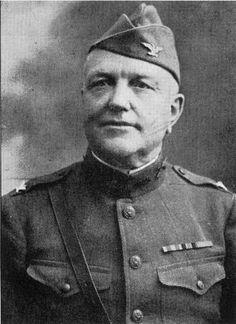 Portrait of Col. Charles C. Weybrecht in his World War I Army uniform taken ca. 1919.