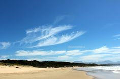 Visit Hartenbos, Coastal Town, South Africa known for long stretched out white sandy beaches.