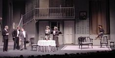 Arsenic and Old Lace Set.  Brockport.