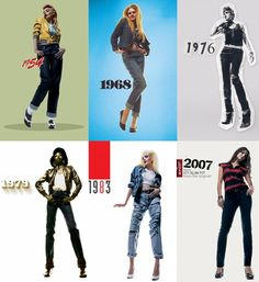 I jeans nel corso del tempo secondo Levis - campagna del 2007