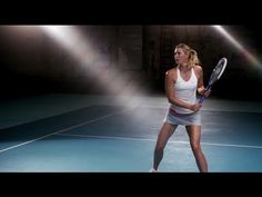 """Maria Sharapova: """"I can be a better player."""" Also a peek at the new Nike Spring 2015 fitness line that is now available."""