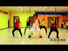 Hasta abajo Yandel Coreografia Edward Sanchez D'Rd - YouTube
