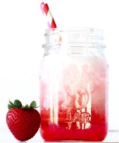 When I was dating my hubby, we used to work at this little coffee bar at church. We had a blast concocting this deliciously Easy Italian Soda Recipe! Strawberry Italian Soda Recipe, Strawberry Drink Recipes, Italian Sodas Recipe, Frozen Strawberry Lemonade, Strawberry Syrup, Italian Recipes, Slush Recipes, Recipes, Cooking
