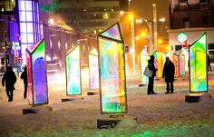 What's happening now in Montréal: find things to do, festivals, exhibitions and more. Winter Festival, Atrium, Travel Destinations, Things To Do, Digital Art, Around The Worlds, Canada, Places, Up