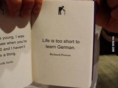 Life is too short to…